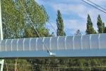 VulcaLucent™ bridge balustrade moulded curved