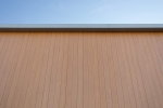 VulcaLap-aluminium-rainscreen-Light-Oak-Coalville-close-up