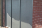 Frangible panel system external view