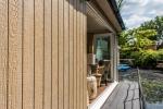 Rangewood® Diamond Kote Weathered Wood Grooved Panel Houseboat