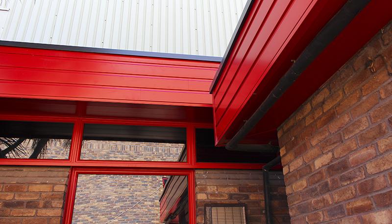 VulcaLap® aluminium weatherboard cladding Shiplap plank
