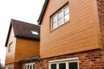 VulcaLap® tongue and groove low maintenance aluminium weatherboard cladding wood effect