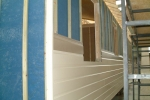 VulcaLap® weatherboard off-site installation