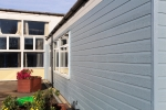 WeatherTone® Shiplap - Slate Blue & Light Grey