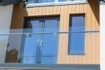 WeatherTone WideVee® Natural Cedar Vertical Timber Cladding
