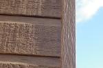 'Dark Oak' woodgrain corner