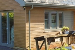 WeatherTone® Shiplap Garden Studio, engineered timber cladding weatherboard