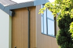 WeatherTone WideVee® Natural Cedar Vertical Timber Cladding