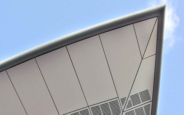 wide range of cladding panels for external applications