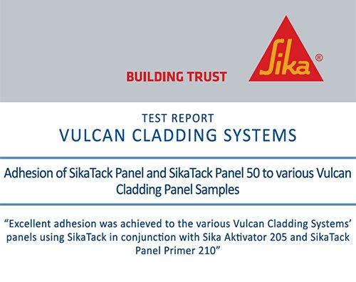 Sika rainscreen test certificate