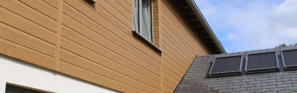 timber weatherboard cladding