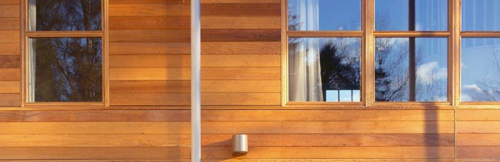 Western Red Cedar cladding