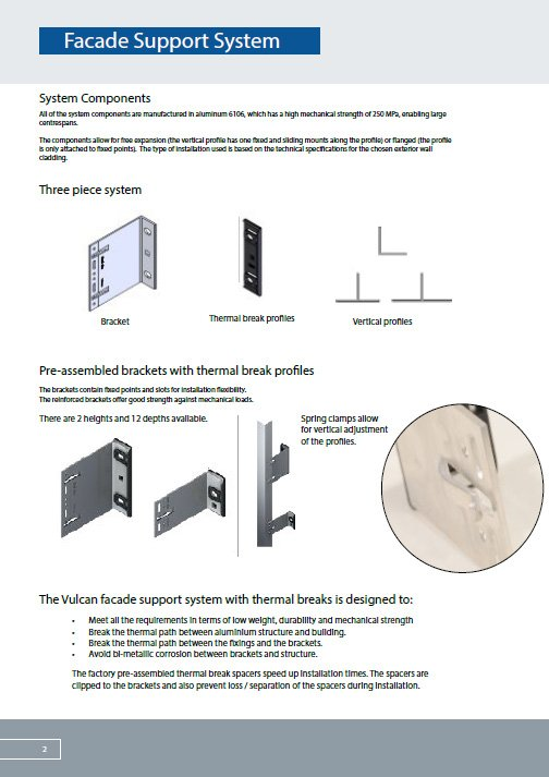 facade support system brochure