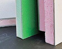 cladding panels GRP, Trespa, Plastisol
