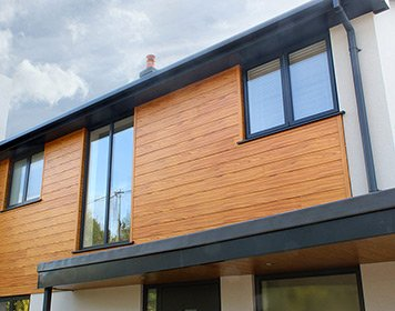 aluminium cladding shiplap tongue and groove