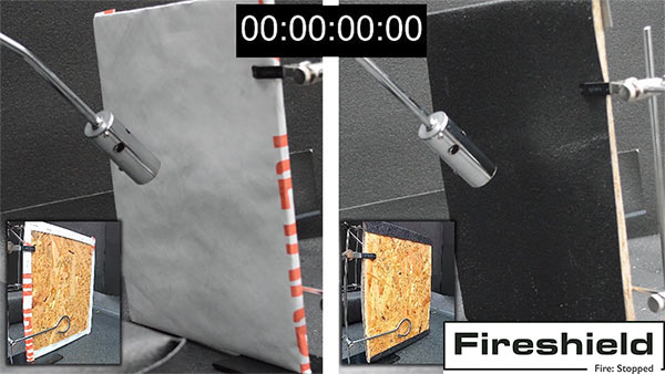 Fire Rated Breather Membrane Fireshield