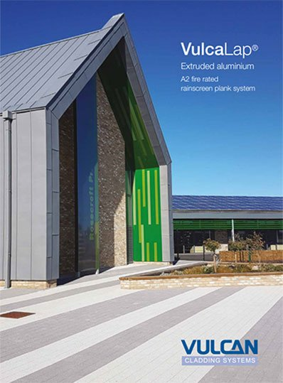 VulcaLap rainscreen cladding system