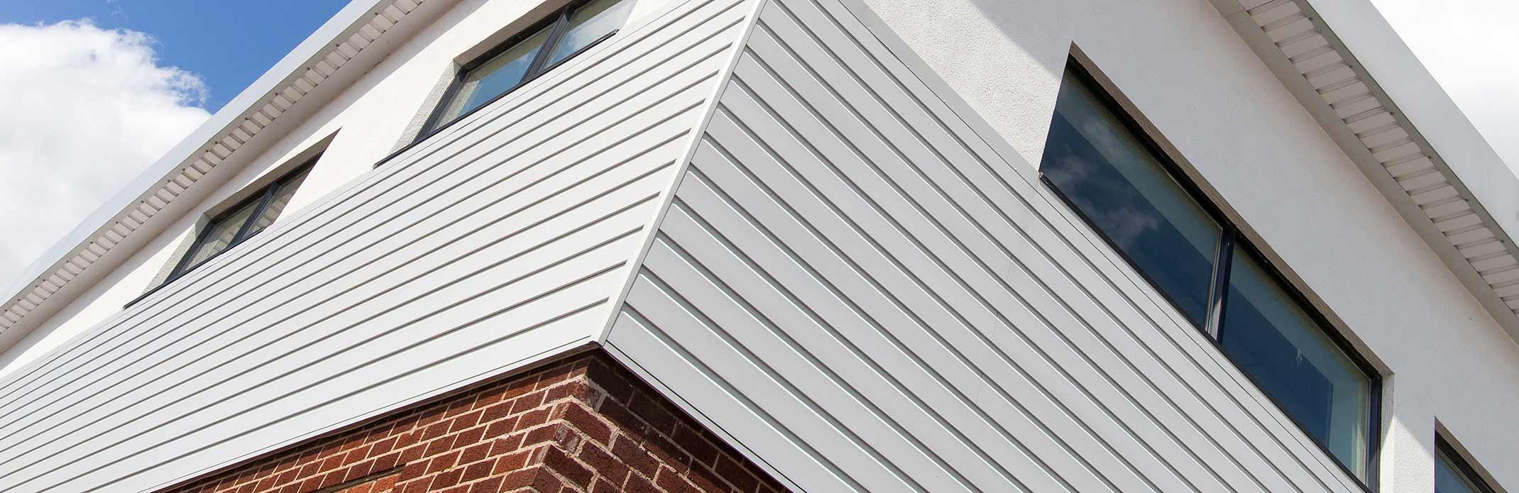 aluminium rainscreen cladding system