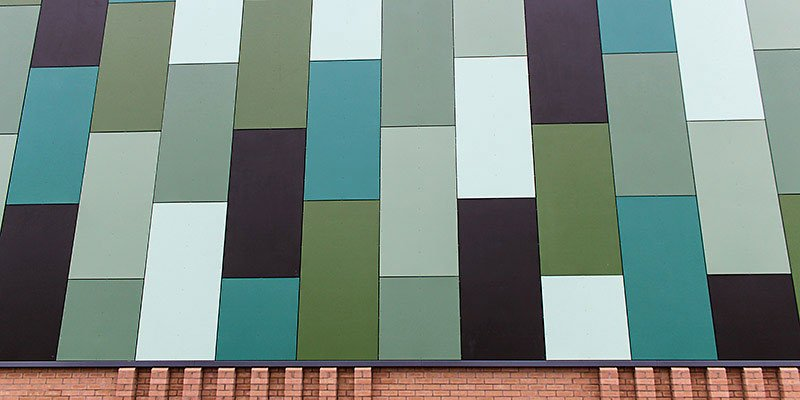 VulcaTuf GRP Rainscreen Cladding Panels