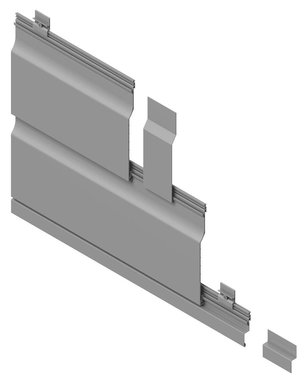 aluminium shiplap cladding